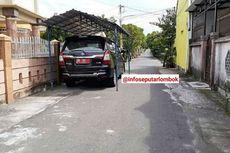 Pemilik Mobil Bikin Garasi di Pinggir Jalan, Ingin Tunjukkan Status Kemapanan