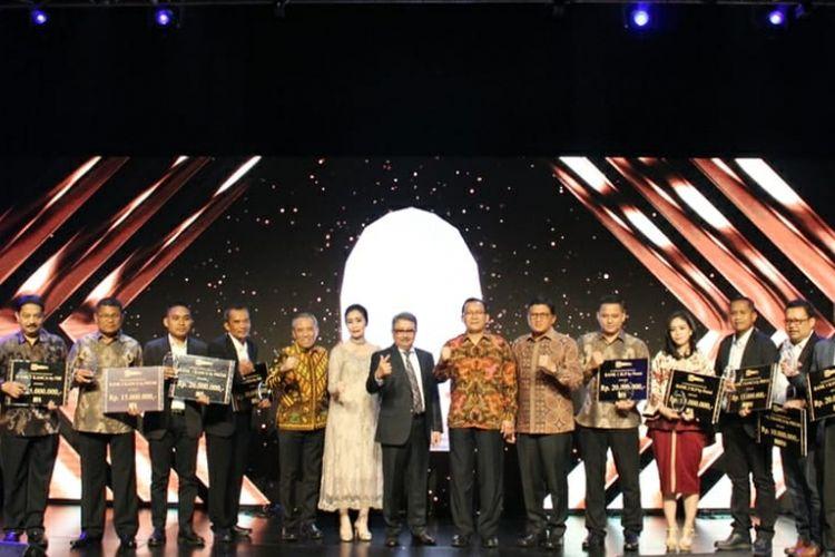 Acara BRI Life Awarding Night di Jakarta.
