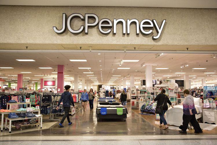 Department store terbesar keempat di Amerika Serikat, JC Penney bangkrut.