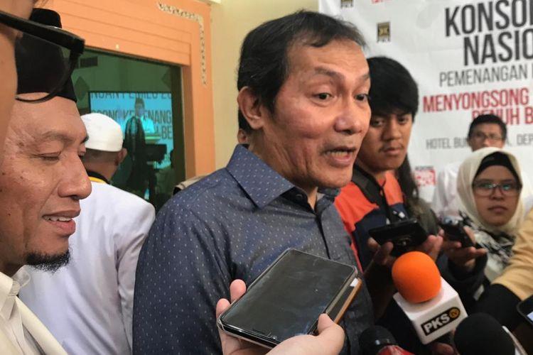 Wakil Ketua Komisi Pemberantasan Korupsi (KPK) Saut Situmorang di Hotel Bumi Wiyata, Depok, Jawa Barat, Minggu (14/10/2018).