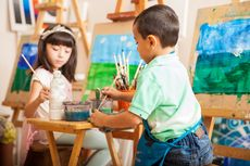7 Manfaat Menggambar untuk Anak