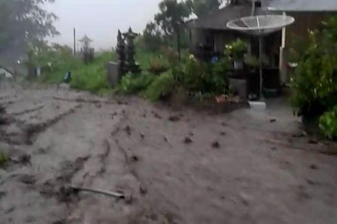 Banjir Bandang di Kintamani, 15 Rumah Terendam Lumpur