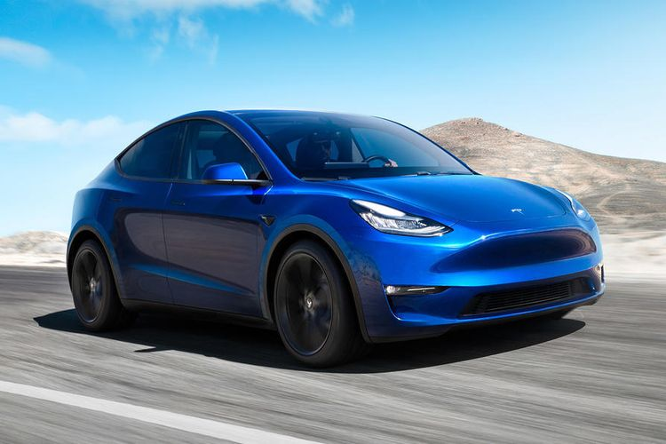 Tesla Model Y jadi mobil listrik termurah Tesla.