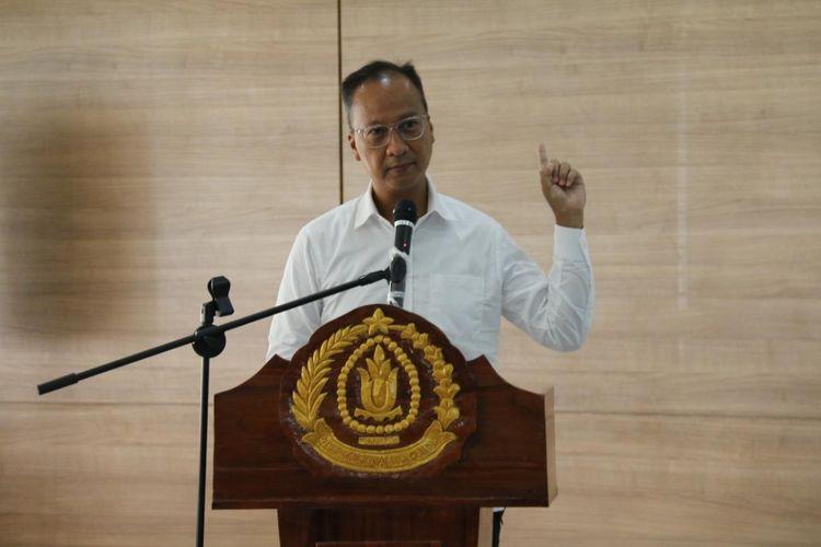 Menteri Perindustrian Agus Gumiwang