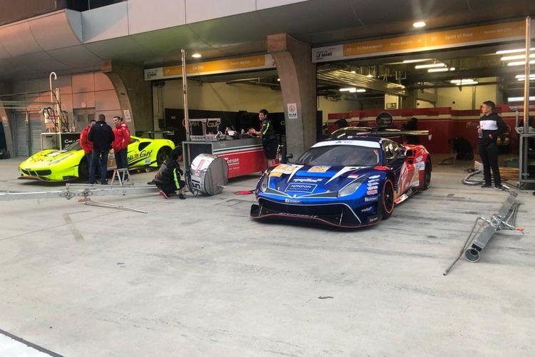 Mobil Balap Rio Haryanto dan David di Asian Le Mans Series
