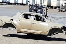 Foto Bodi Dcab Hyundai Bocor di Internet, Berbasis Santa Fe
