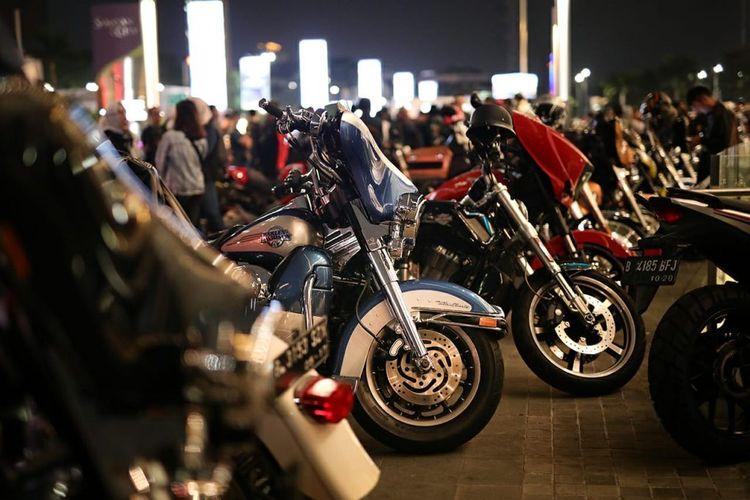 Parkir motor khusus moge mulai menjamur di beberapa lokasi incaran para biker