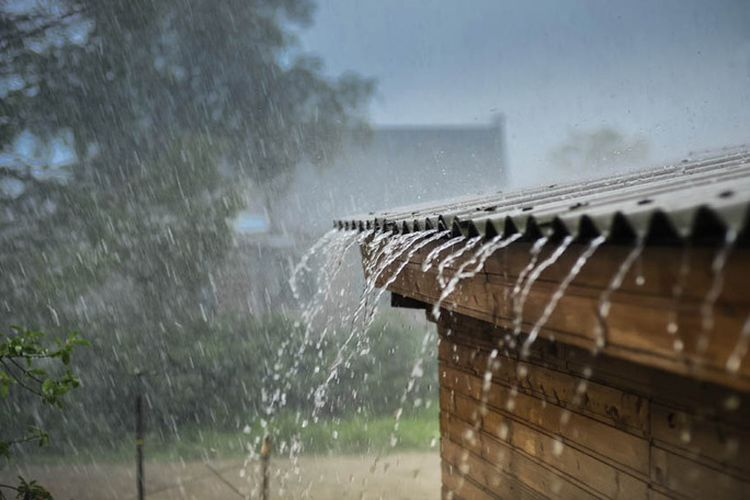 Cara memperbaiki atap rumah bocor saat musim hujan.