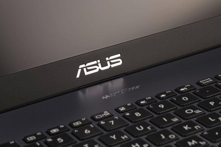 Ilustrasi laptop Asus