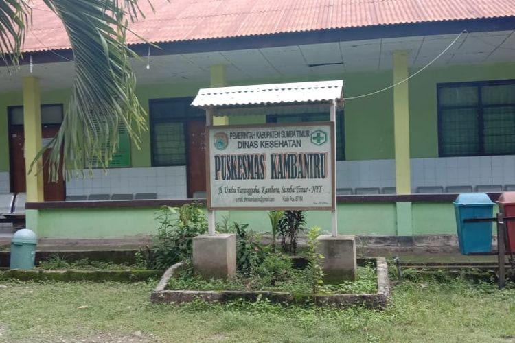 Puskesmas Kambaniru, Kelurahan Kambaniru, Kecamatan Kambera, Kabupaten Sumba Timur, Nusa Tenggara Timur (NTT).