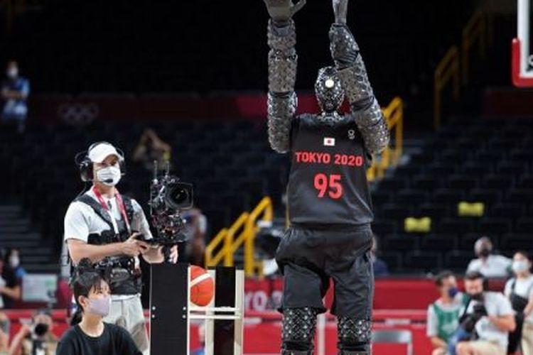 CUE Robots di Olimpiade Tokyo.