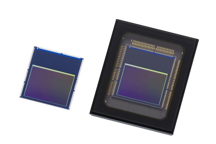 Ilustrasi sensor kamera Sony