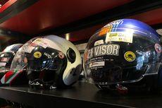 Cegah Virus Corona Melekat pada Helm