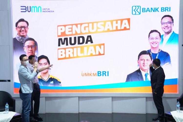 Bank BRI gelar program akselerasi Pengusaha Muda BRIlian (PMB) untuk majukan UMKM.