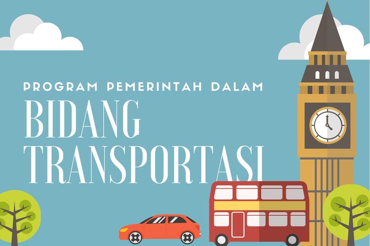 Ilustrasi program pemerintah bidang transportasi