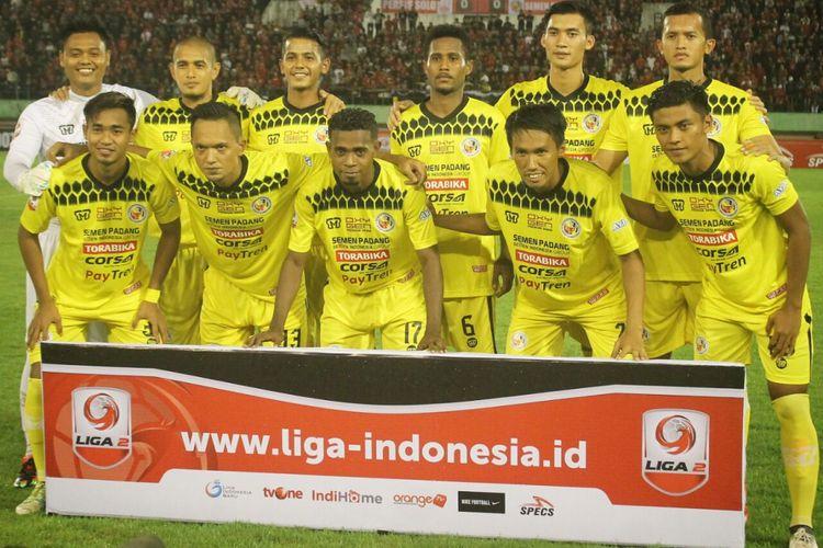 Semen Padang kalah di laga perdana Liga 2 Indonesia.