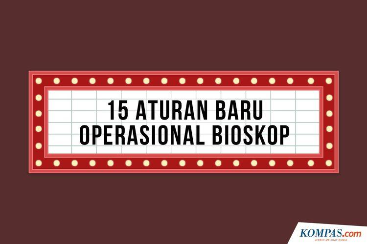 15 Aturan Baru Operasional Bioskop