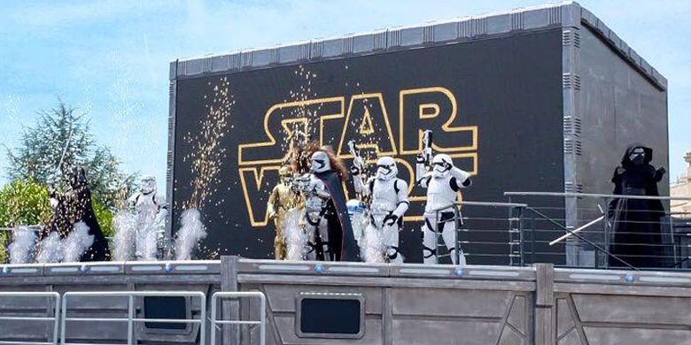 Starwars di Disneyland Paris.