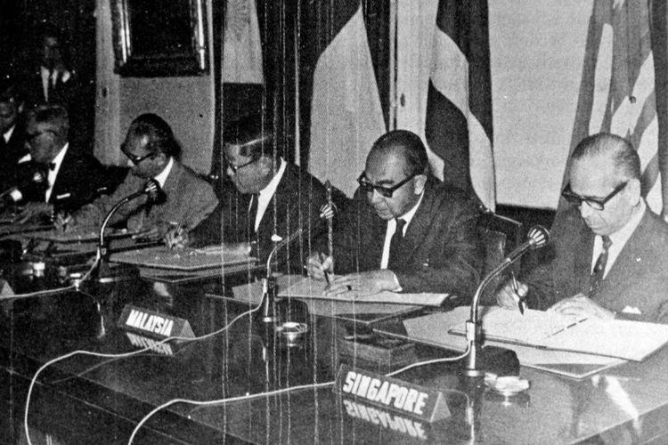 Penandatanganan ASEAN tahun 1967