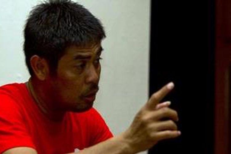Mantan pelatih timnas Indonesia, Nilmaizar.