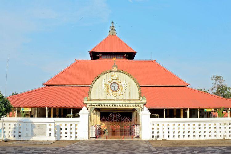Masjid Gedhe Kauman Yogyakarta.