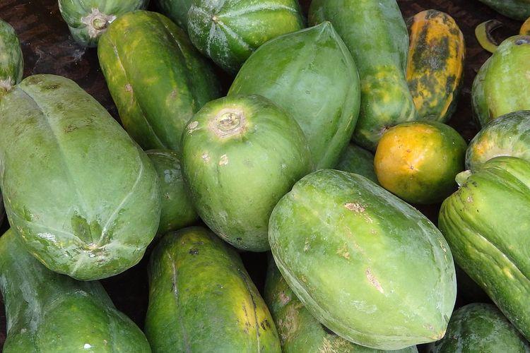 Ilustrasi buah pepaya.