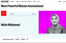 Dirut Pertamina Nicke Widyawati Masuk Daftar Perempuan Paling Berpengaruh Dunia 2021
