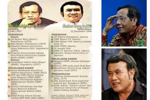 Siapa yang Dipilih PKB, Mahfud MD atau Rhoma Irama?