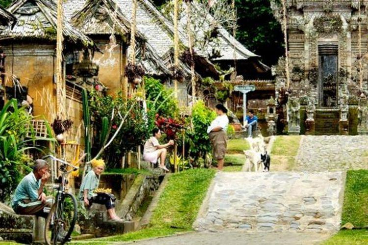 Desa Adat Penglipuran di Kabupaten Bangli, Bali.