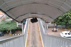 JPO Halte Universitas Indonesia Tidak Sepenuhnya Diperbaiki