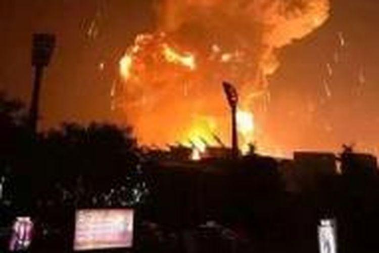 Ledakan di Tianjin China