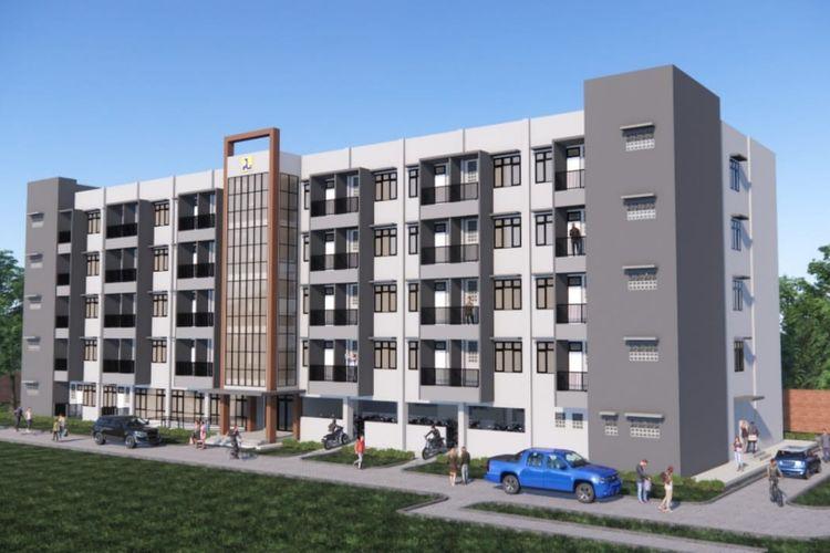 Rumah susun khusus PPKS yang akan dibangun Kementerian PUPR