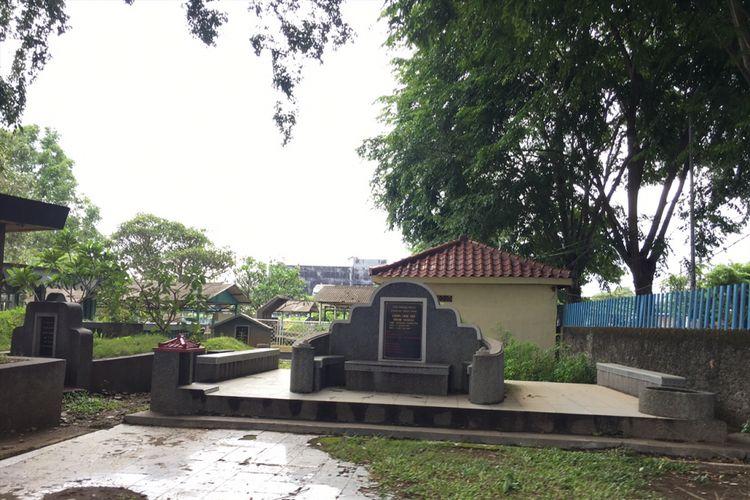 Pemakaman atau kuburan keturunan Tionghoa yang dikelola oleh Yayasan Pancaran Tri Dharma di Jalan Perjuangan, Kota Bekasi, Jawa Barat, Selasa (30/1/2018).