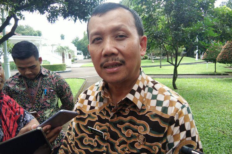 Sekretaris Daerah Jawa Barat Iwa Karniwa saat ditemui di Gedung Pakuan, Jalan Cicendo, beberapa waktu lalu. .