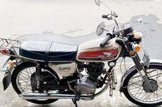 Harga Honda CB 100 Tahun 1974 Tembus Rp 24 Jutaan