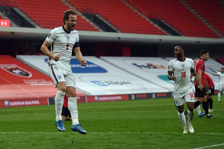 Albania Vs Inggris, Aksi Harry Kane Bawa Three Lions Mengaum Lagi Halaman  all - Kompas.com