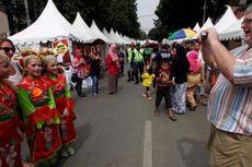 Jalan Kemang Raya Ditutup karena Festival Palang Pintu