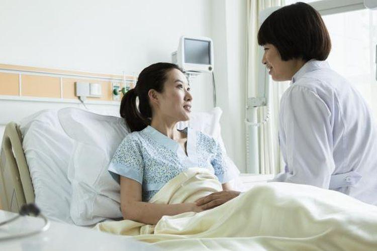Ilustrasi pasien di rumah sakit