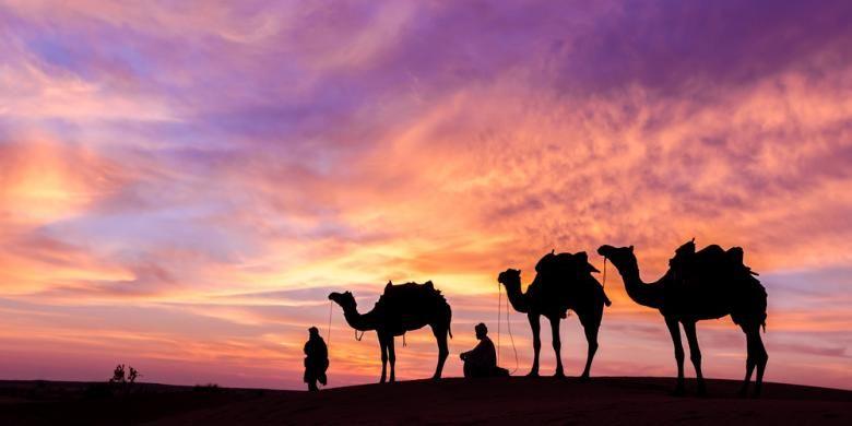 Gurun pasir di Oman.