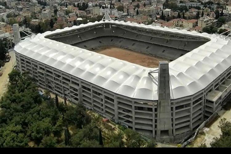 Gambar rancangan Stadion Agia Sophia yang akan jadi kandang klub AEK Athens.