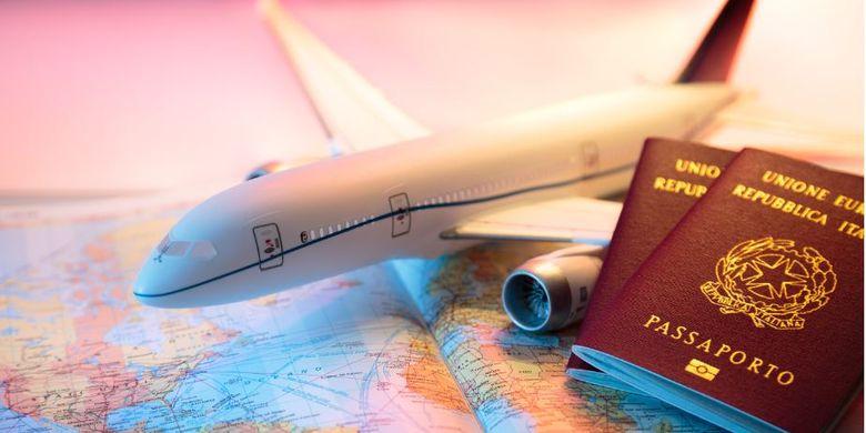 Ilustrasi Penerbangan Internasional