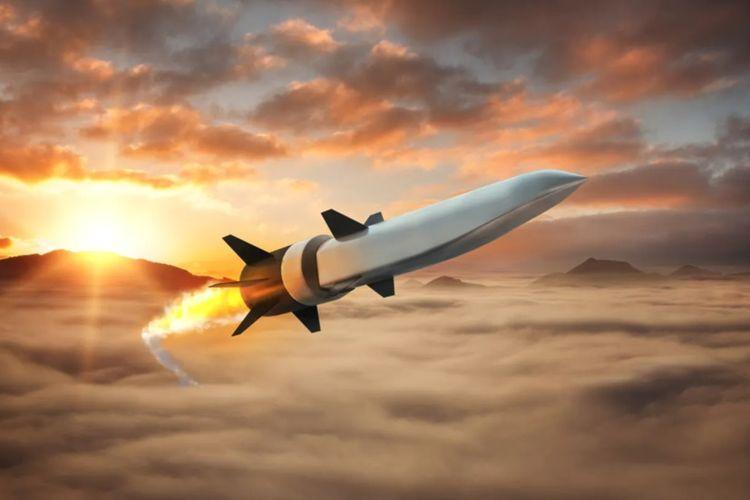 Ilustrasi prototipe rudal yang dikembangkan oleh Raytheon.