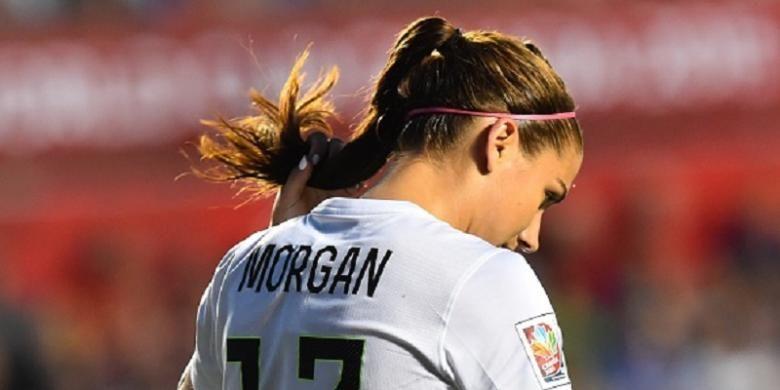 Pesepak bola wanita Amerika Serikat, Alex Morgan.