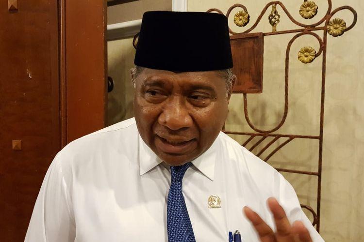Ketua Komisi VIII DPR RI Ali Taher ketika ditemui di Menara Peninsula, Slipi, Jakarta Barat, Senin (2/9/2019).