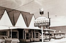 20 Maret 1930, Kolonel Sanders Buka Restoran yang Jadi Cikal Bakal KFC