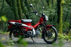 Adu Spesifikasi CT125 Hunter Cub dan Super Cub C125