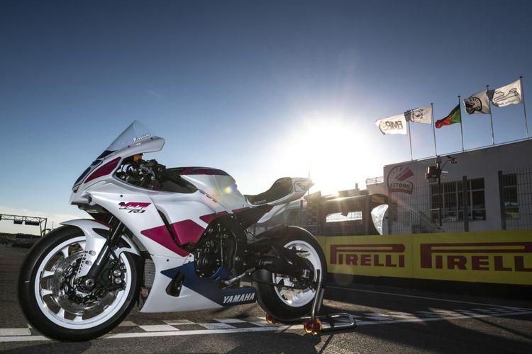 Yamaha melelang motor replika Fabrizio Pirovano.