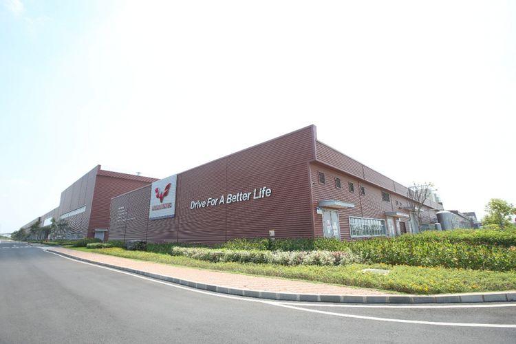 Pabrik Wuling Motor Indonesia yang berlokasi di Greenland International Industri Center (GIIC), Cikarang, Kabupaten Bekasi, Jawa Barat.