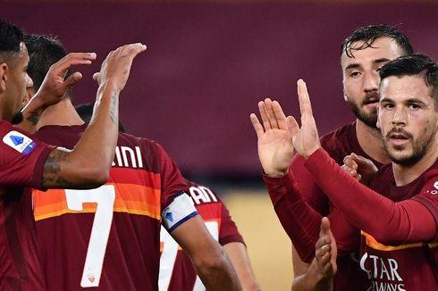 Babak I AS Roma Vs Inter Milan, Lorenzo Pellegrini Jadi Pembeda