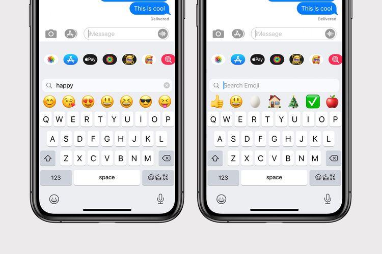 Apple Emoji Keyboard